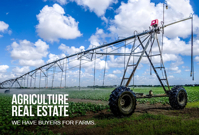 Buyers for Farms - irrigation