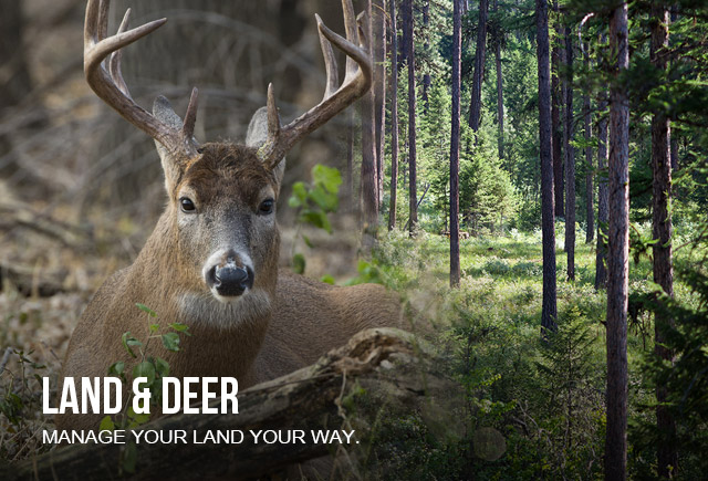 Land and Deer - manage land your way