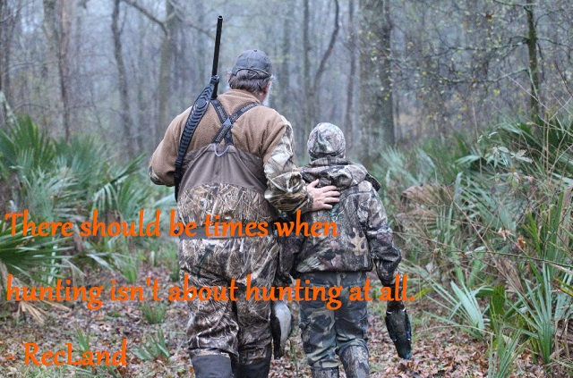 Duck Hunting Father and Son, Duck Commander and Buck Commander Endorsed Land Broker, RecLand