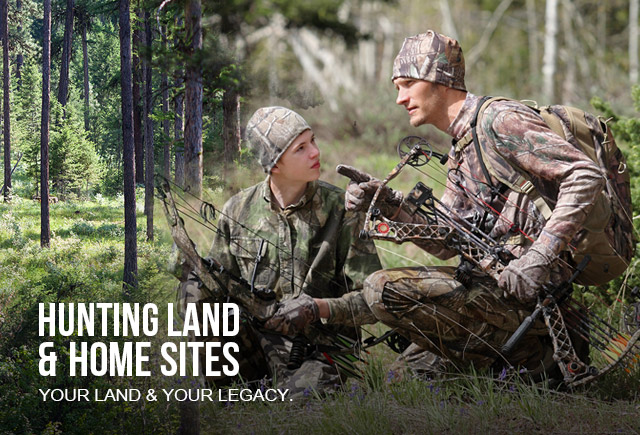 your land and your legacy - dad and son bow hunting