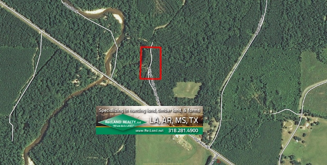 LA - Allen - Wooded Camp Site Tract with River Access