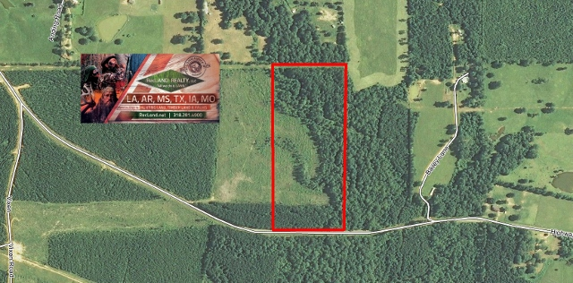LA - Caldwell - Rural Wooded Home Site Tract with Hunting