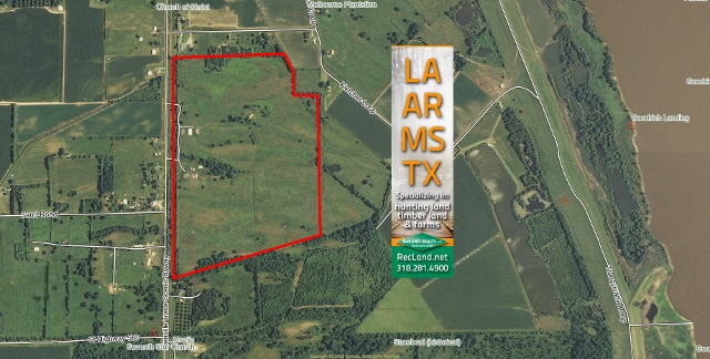 LA - East Carroll - Old Pasture with New Camp & Several Potential Uses
