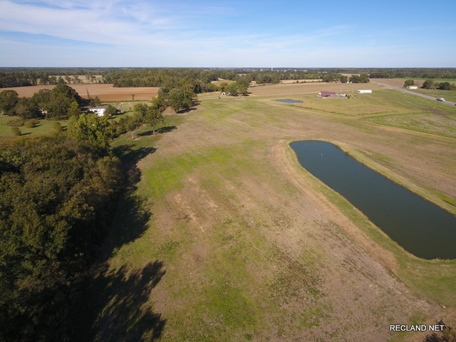 LA - Franklin - Mostly Cleared Tract with Pond - Nice Home Site Potential